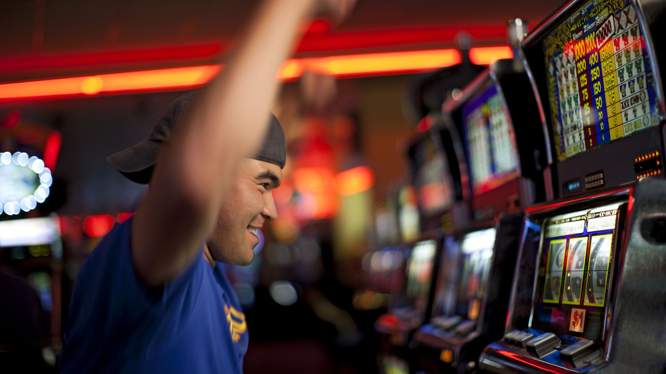 Types of the slot games
